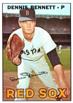 1967 Topps #206 Dennis Bennett