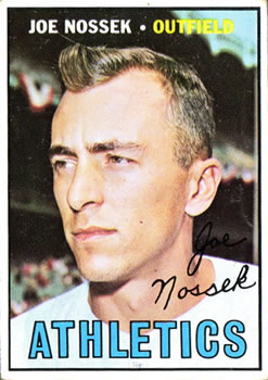 1967 Topps #209 Joe Nossek