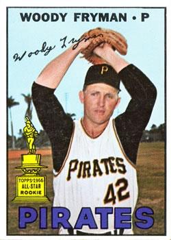 1967 Topps #221 Woody Fryman