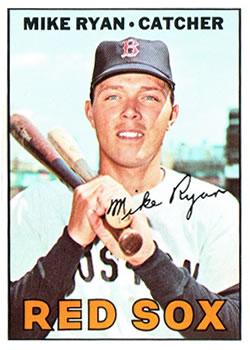 1967 Topps #223 Mike Ryan