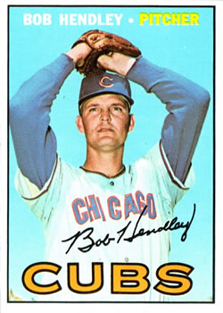 1967 Topps #256 Bob Hendley