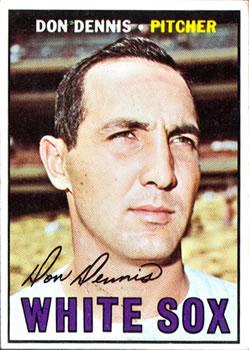1967 Topps #259 Don Dennis