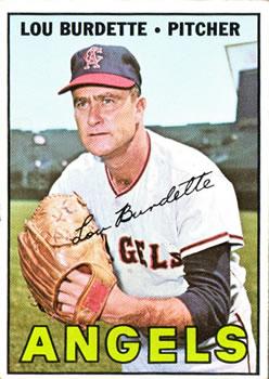 1967 Topps #265 Lou Burdette