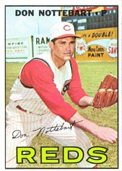 1967 Topps #269 Don Nottebart