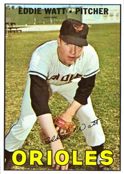 1967 Topps #271 Eddie Watt