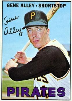 1967 Topps #283 Gene Alley