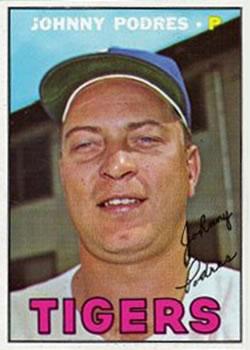 1967 Topps #284 Johnny Podres
