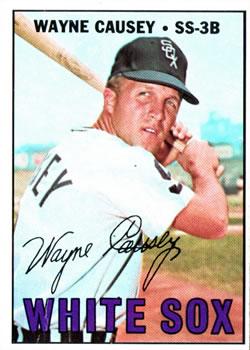 1967 Topps #286 Wayne Causey