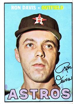 1967 Topps #298 Ron Davis RC