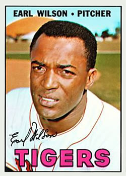 1967 Topps #305 Earl Wilson