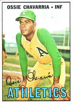 1967 Topps #344 Ossie Chavarria RC