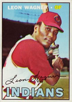 1967 Topps #360 Leon Wagner