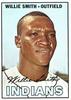 1967 Topps #397 Willie Smith DP