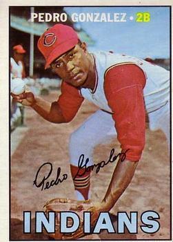 1967 Topps #424 Pedro Gonzalez