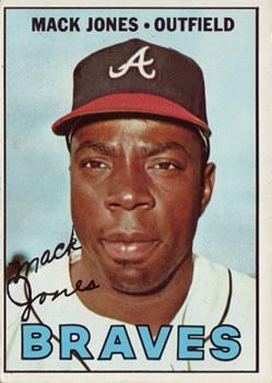 1967 Topps #435 Mack Jones DP