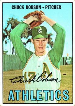 1967 Topps #438 Chuck Dobson
