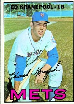1967 Topps #452 Ed Kranepool