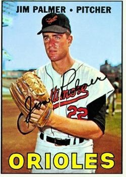 1967 Topps #475 Jim Palmer