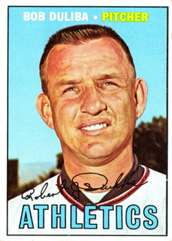 1967 Topps #599 Bob Duliba DP