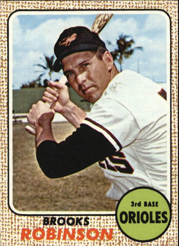 1968 Topps #20 Brooks Robinson