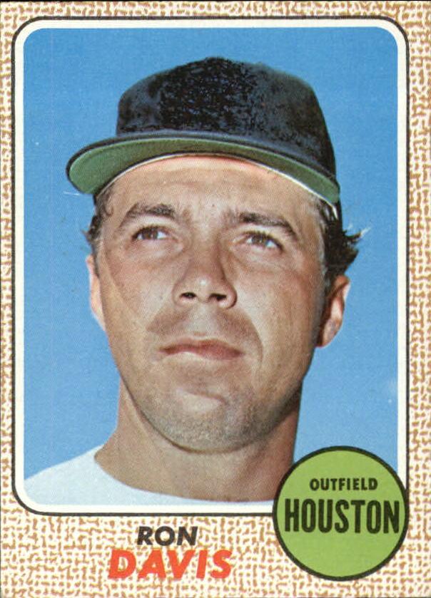 1968 Topps #21 Ron Davis