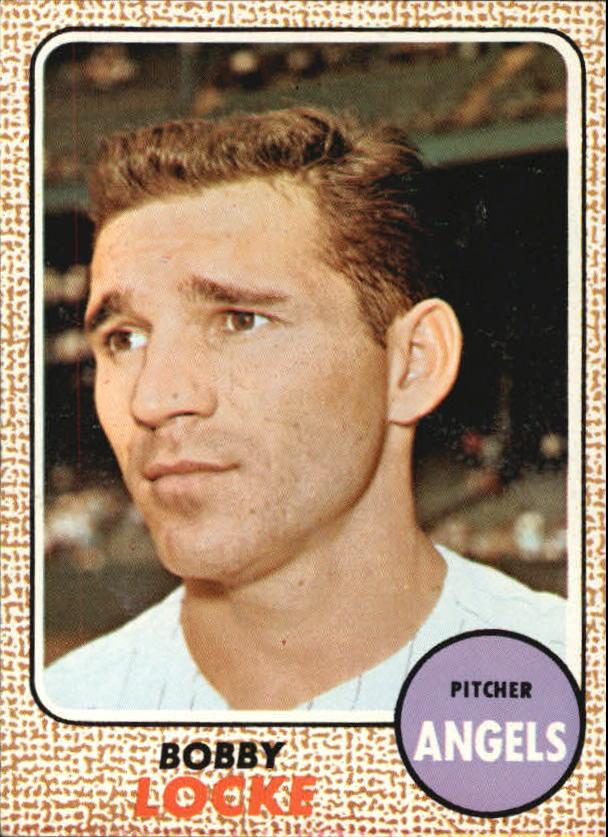 1968 Topps #24 Bobby Locke