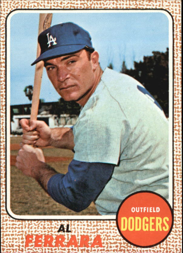 1968 Topps #34 Al Ferrara