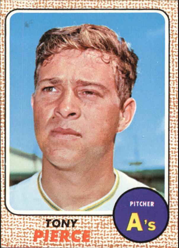 1968 Topps #38 Tony Pierce