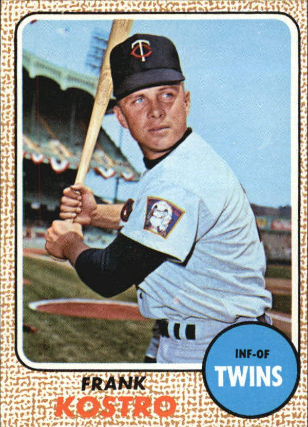 1968 Topps #44 Frank Kostro