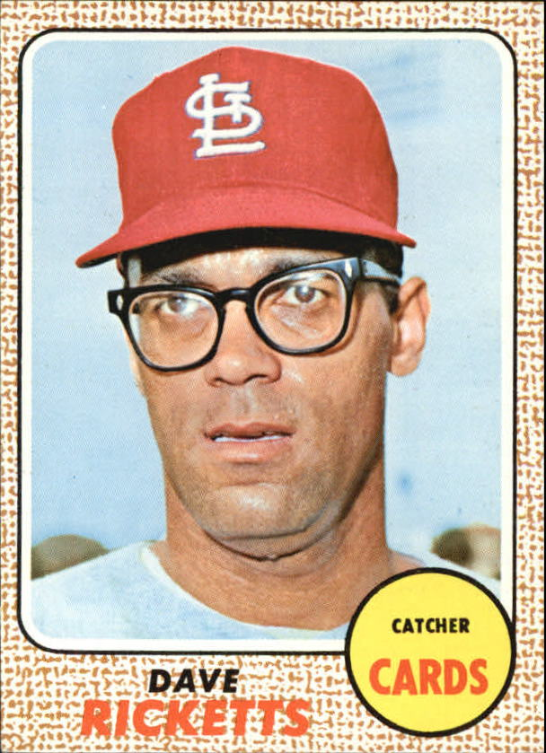 1968 Topps #46 Dave Ricketts