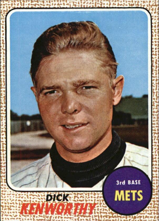 1968 Topps #63 Dick Kenworthy RC