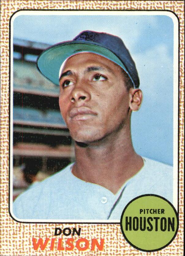 1968 Topps #77 Don Wilson RC
