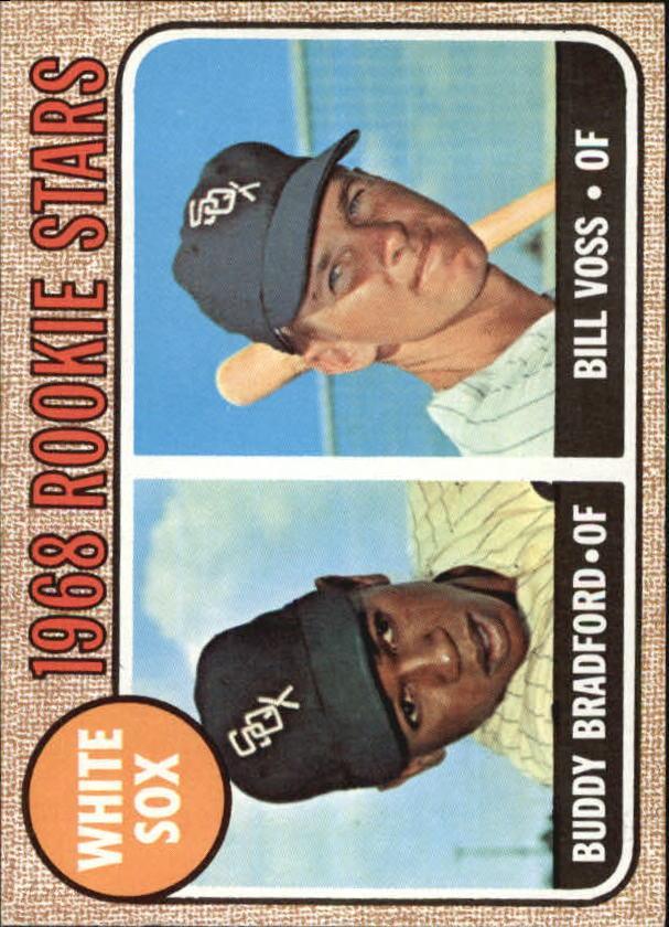 1968 Topps #142 Rookie Stars/Buddy Bradford RC/Bill Voss
