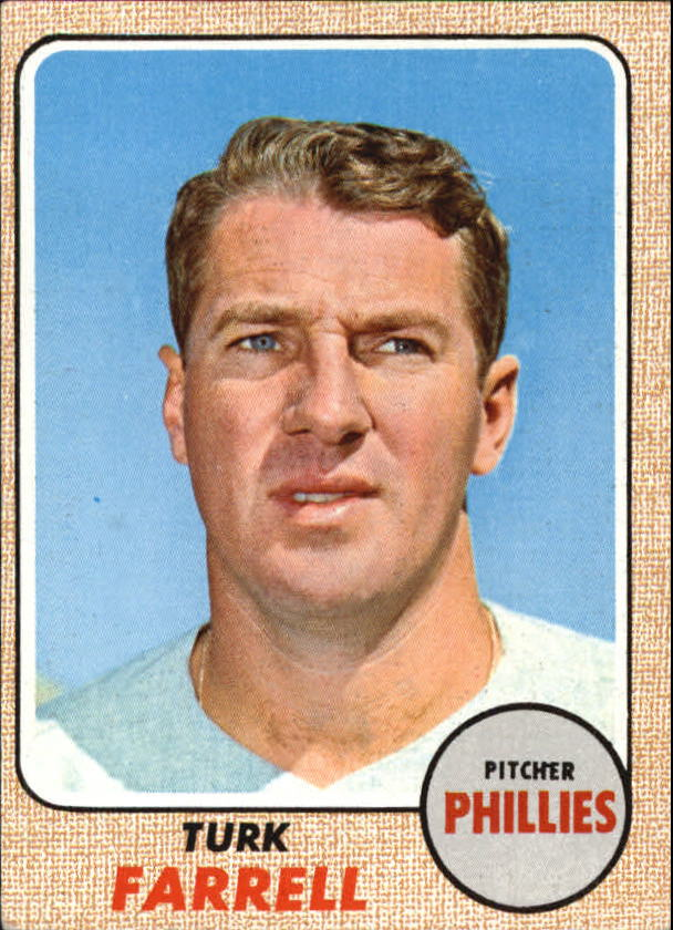 1968 Topps #217 Dick Farrell