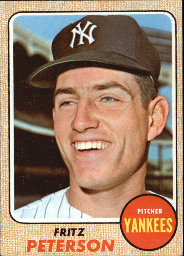 1968 Topps #246 Fritz Peterson