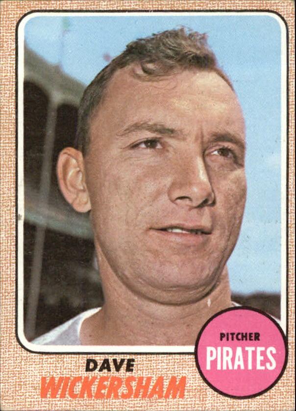 1968 Topps #288 Dave Wickersham