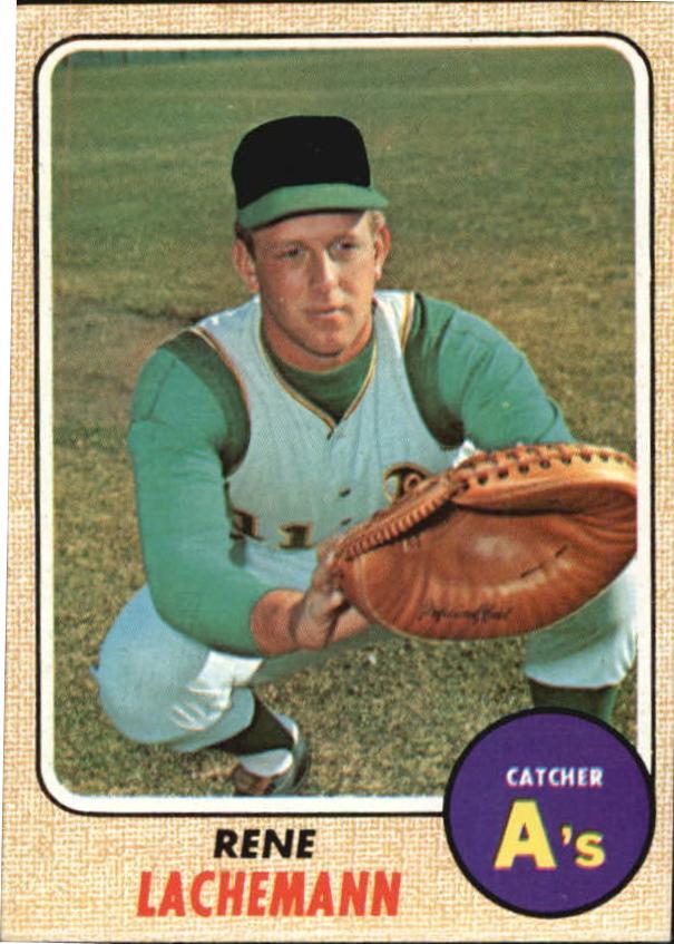 1968 Topps #422 Rene Lachemann