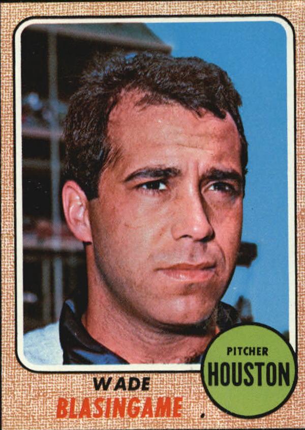 1968 Topps #507 Wade Blasingame