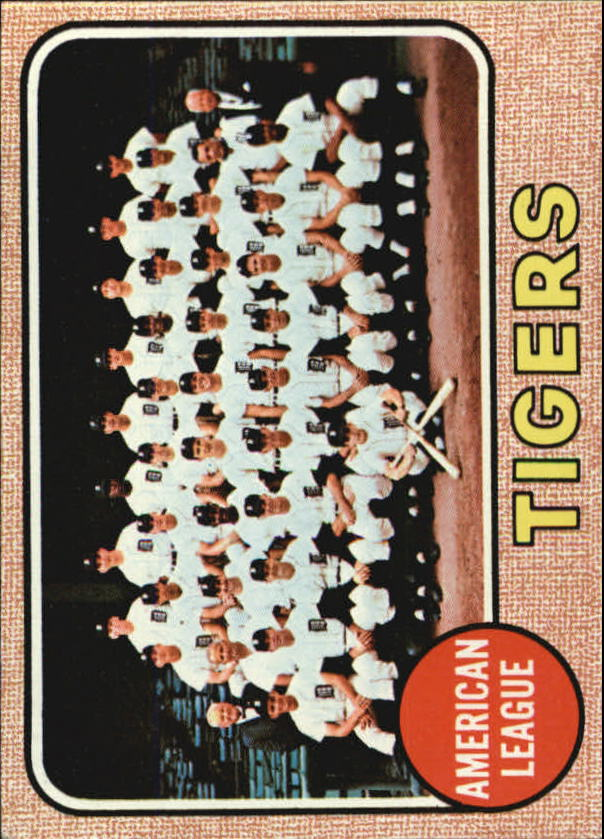 1968 Topps #528 Detroit Tigers TC