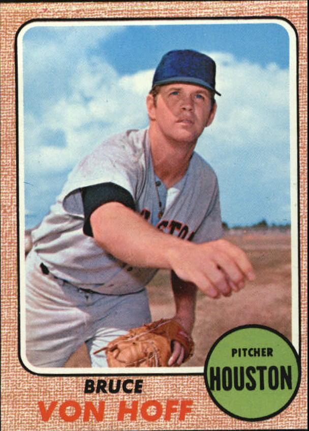 1968 Topps #529 Bruce Von Hoff RC