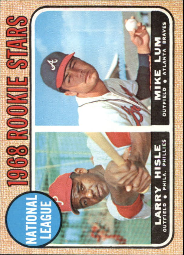 1968 Topps #579 Rookie Stars/Larry Hisle RC/Mike Lum RC