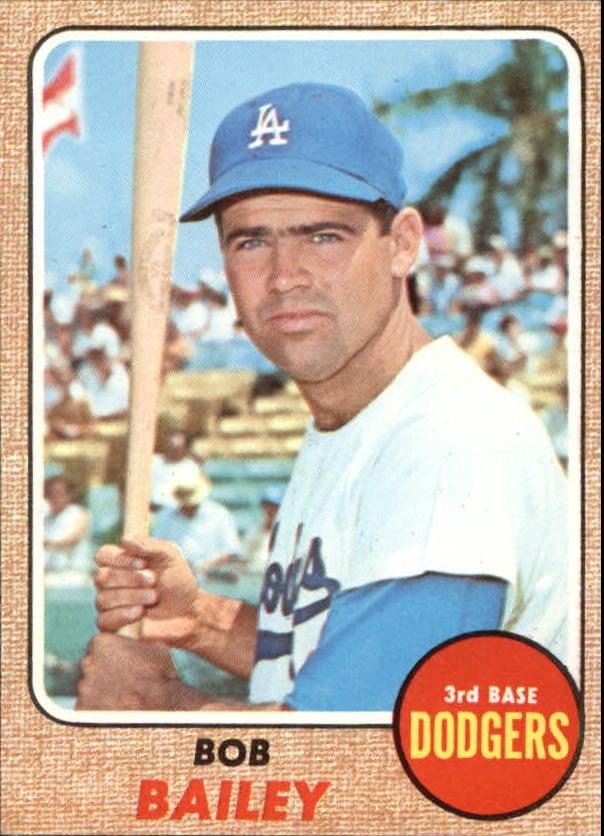 1968 Topps #580 Bob Bailey