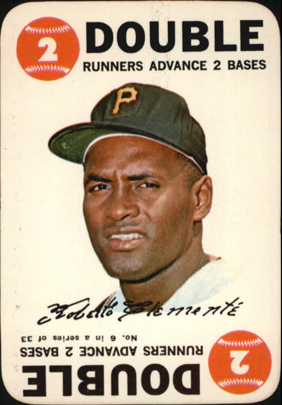 1968 Topps Game #6 Roberto Clemente