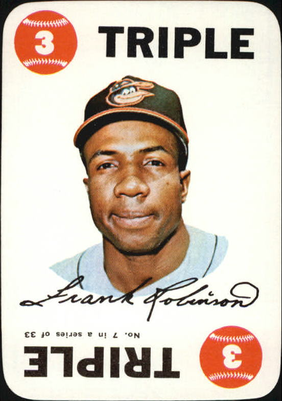 1968 Topps Game #7 Frank Robinson