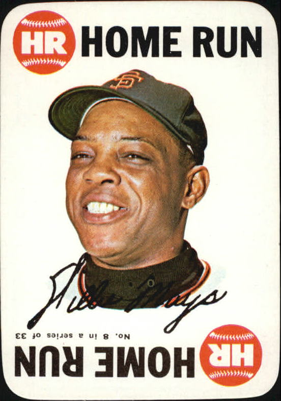 1968 Topps Game #8 Willie Mays