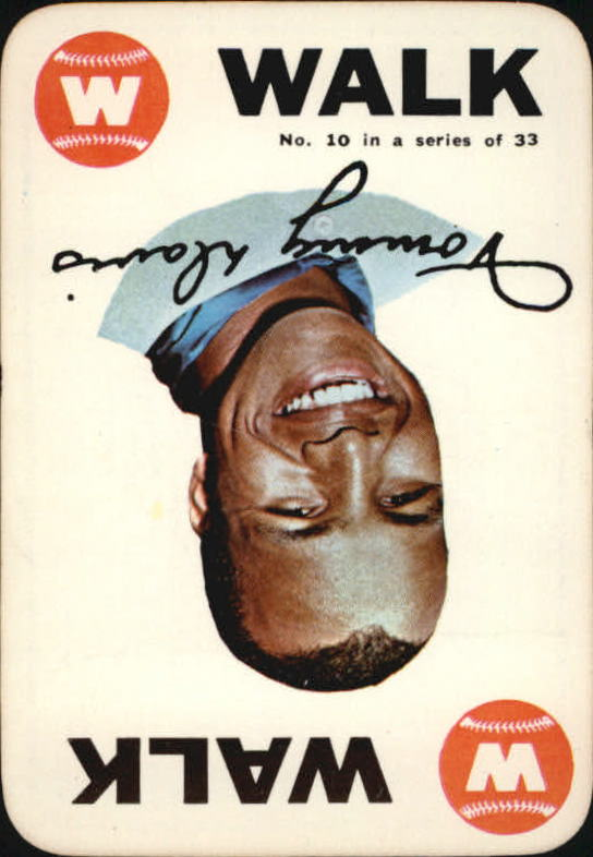 1968 Topps Game #10 Tommy Davis