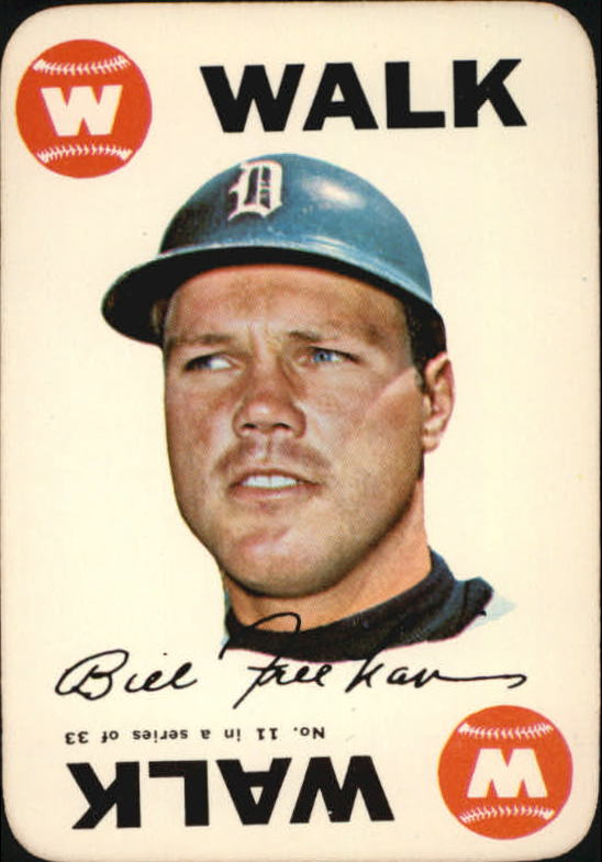 1968 Topps Game #11 Bill Freehan