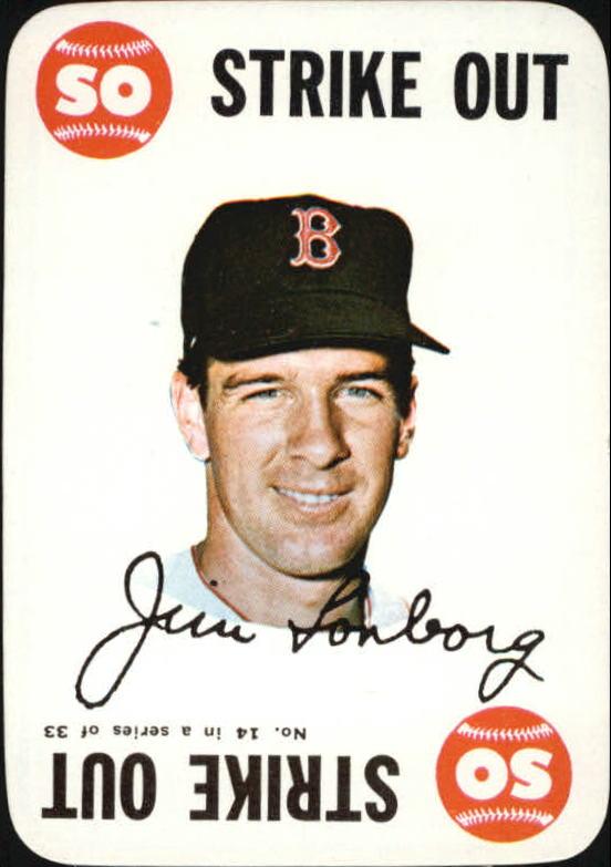 1968 Topps Game #14 Jim Lonborg
