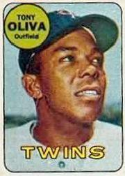 1969 Topps Decals #32 Tony Oliva