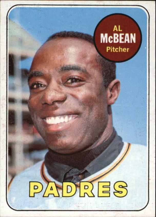 1969 Topps #14 Al McBean